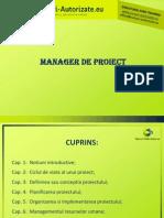 Suport Curs Man Pr - CD