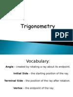 1-1 Introduction to Trigonometry