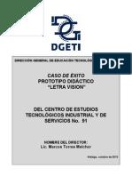 CE_CETIS091_01 Prototipo Letra Visión