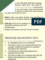 pressure drawdown test