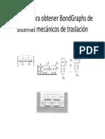 Método Para Obtener BondGraphs de Mecánicos de Traslación