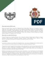 Recorrido Del Vía Crucis de Jerez de La Frontera 2015
