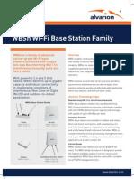 Alvarion WBSn Base Station Family Datasheet