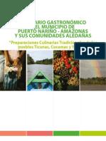 Recetario Gastronómico Del Municipio de Puerto Nariño y Sus Comunidades Aledañas