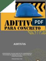PRESENTACION TIPOS DE ADITIVOS