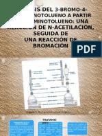Síntesis Del 3 Bromo 4 Acetaminotolueno a Partir Del 4 (1)
