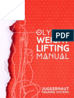 Olympic Weightlifting Manual