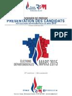 Présentation Candidats RBM départementales Lot