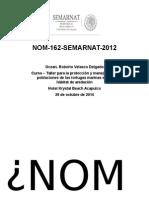 Tortuga Marina Presentacion Curso Taller NOM 162 SEMARNAT 2012