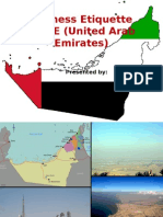 Etiquettes in UAE