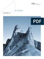 1741 Asset Management Ag Research Note Series III 2013 - Aktive Verwaltung Von Internationalen Obligationenportfolios 0
