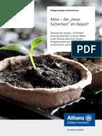 Allianz_aktien vs Anleihen - Historische Analyse