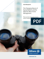 Allianz_changing Nature of Equity Markets - Active Management