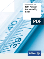 Allianz Pension Sustainability Index 2014