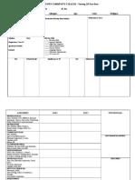 Nur 229 Data Base Care Plan