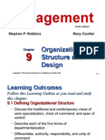 Chapter 9 Organizational structure and design