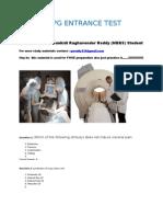 FMGE (MCI Screening test)  preparation material by Gankidi Raghavender Reddy