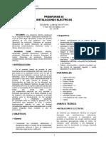 preinforme 2 laboratorio de lectrotecnia