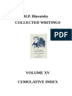 Helena Blavatsky - Collected Writings - part 15 (Index)