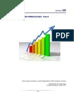 10 La Estadistica en Farmacologia. Parte II 2014