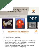 CALIBRACION Y AJUSTE DE CONTOMETROS.ppt