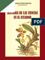 HISTORIA DE LAS CIENCIAS EN EL ECUADOR