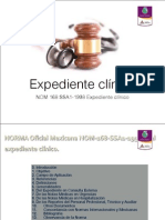 Expediente Clinico NOM 168 Ssa1-1998