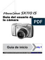 Manual Canon Powershot SX110 is, Español