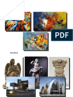 Pintura, Arquitectura, Alfareria Orfebreria, Escultura Musica Antigua en Egipto China India e Israel