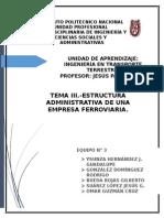 TEMA 3. Estructura Administrativa de Una Empresa Ferroviaría-1