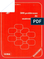 300 Problemas de Matematicas