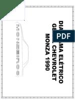 Diagrama Eletrico Geral Monza Monzeiros