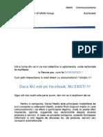 Prezentare Facebook 2014