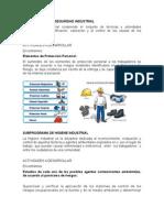 Subprograma de Seguridad Industrial