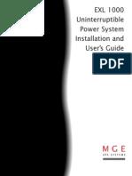 EXL Manual Ups System
