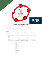 Álgebra Con Geogebra (Cuarta Parte)