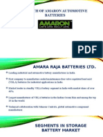 Launch of Amaron Automotive Batteries_Group 4_Sec C