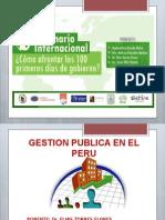 Exposicion Gestion Publica Dr. Elias Torres Flores.
