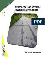 Fallas y Deterioro Sobrecarpeta en HCR