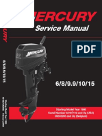 Mercury 15 Manual | Implied Warranty | Machines