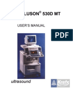 Voluson530DMT User's Manual