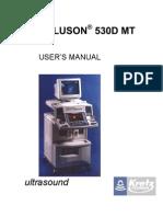 Voluson530DMT User's Manual