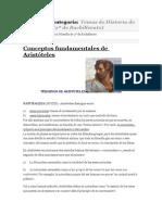 Conceptos Fundamentales de Aristóteles