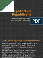 Arquitectura Republica