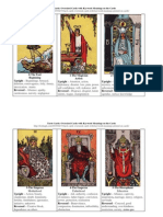 Tarot Cards Oversized Cards and Meanings on Cards