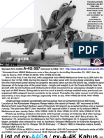 RAN FAA Skyhawk A4G 887 Aircraft History