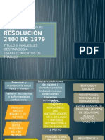 Resolución 2400 de 1979 U
