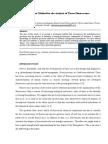 Analysis of Tissue Fluorescence
