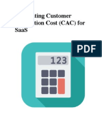 Calculating Customer Acquisition Cost (CAC) for SaaS Companies