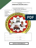 Indice Portafolio Docente 2014 i